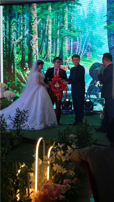 恭祝洛阳黄总新婚大吉!百年好合
