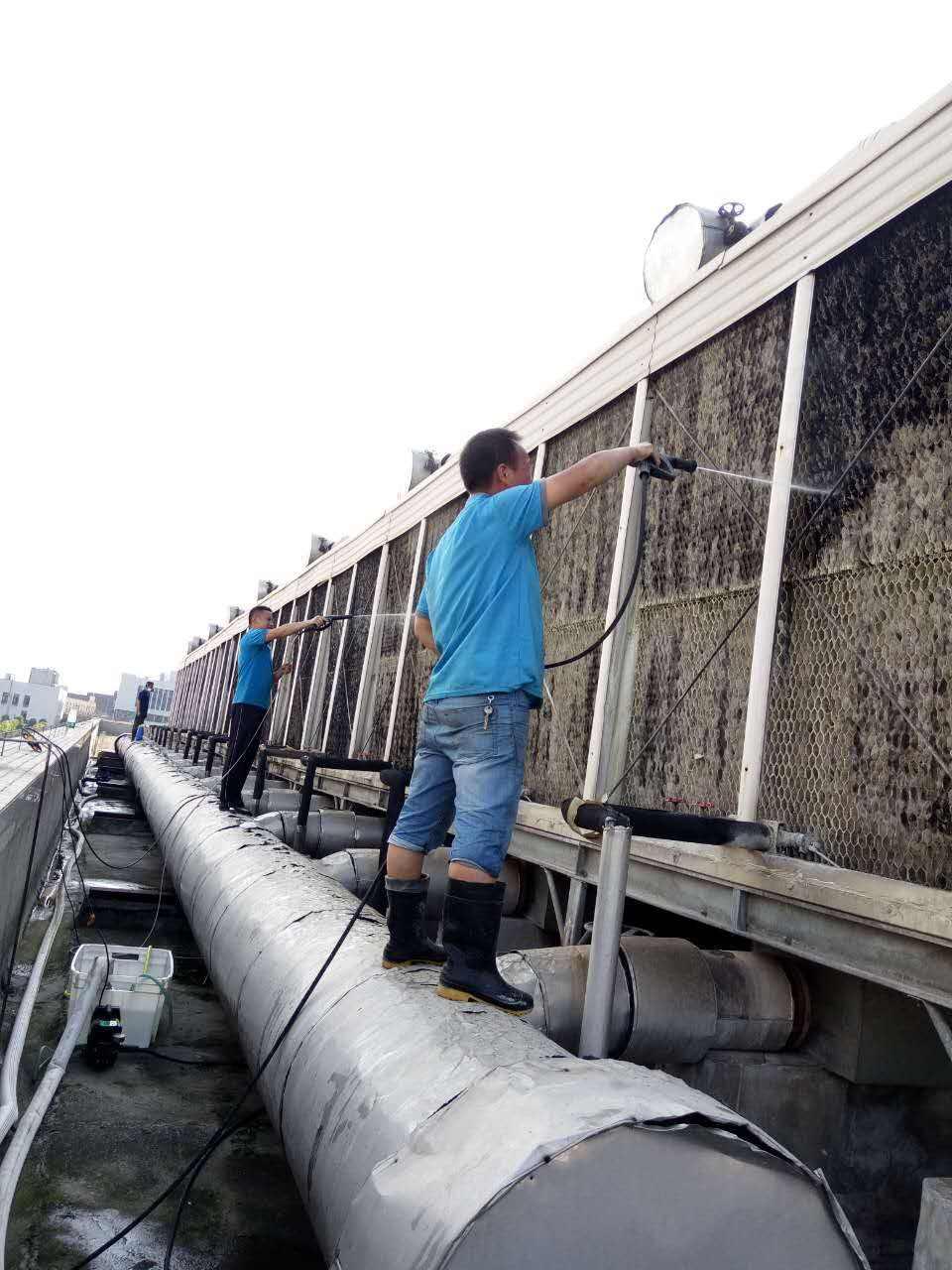 中央空调末端设备清洗标准及流程
