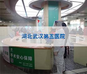 湖北武汉第五医院消毒杀毒除菌