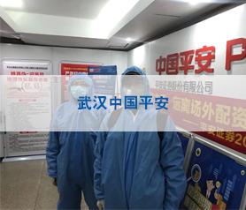 武汉中国平安消毒杀菌项目案例