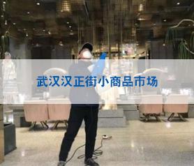 武汉汉正街小商品市场消毒杀菌案例