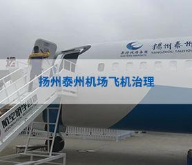扬州泰州机场飞机治理